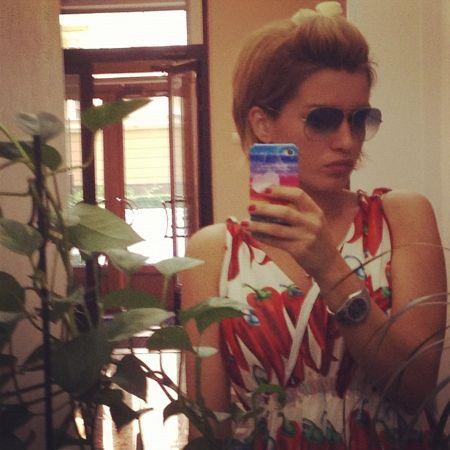Ксения Бородина опубликовала фото с отдыха