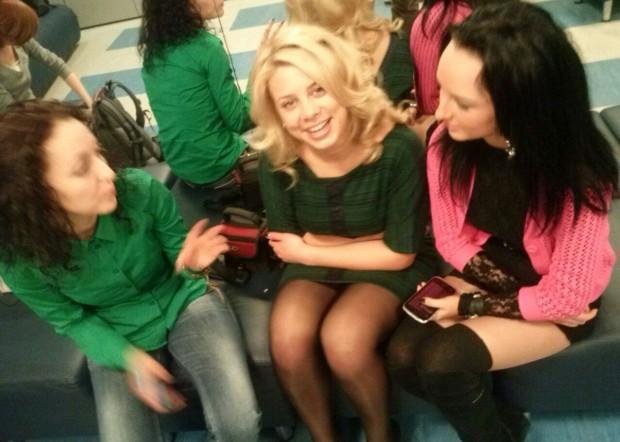 В гримерке программы «Давай поженимся» с Нетяговой, Уваровой и Шоком