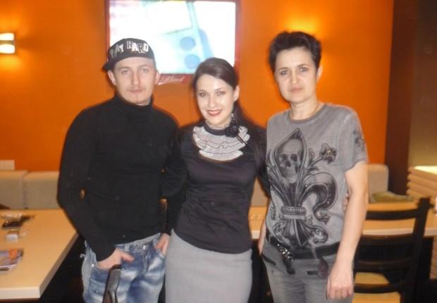 Влад Кадони с матерью Еленой Голуновой (фото)