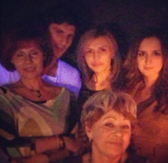 Агибаловы и родители Павла Марсо