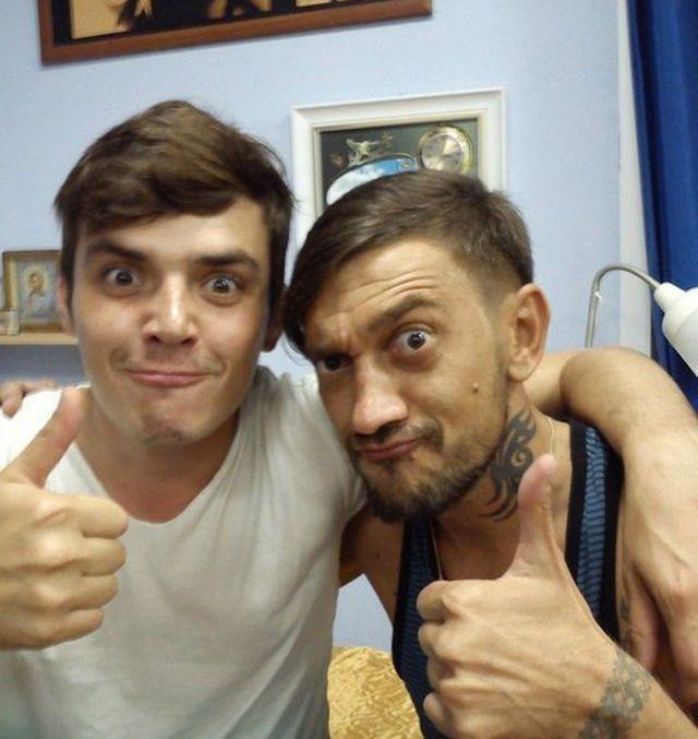Алексей Иванов (DJ PRomo) и Кузин